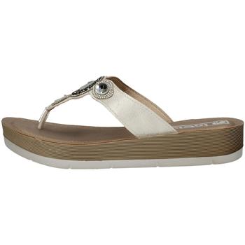 Chaussures Femme Sandales et Nu-pieds Inblu DY 21 flops Femme BLANC BLANC