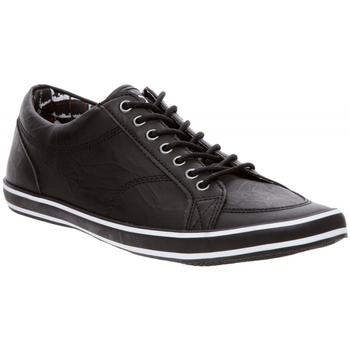 Chaussures Homme Baskets basses Dcco Baskets Homme en cuir Noir Noir