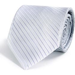 Vêtements Homme Cravates et accessoires Dandytouch Cravate Faux-Uni Argent