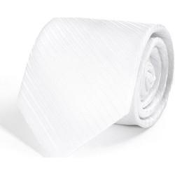 Vêtements Homme Cravates et accessoires Dandytouch Cravate Faux-Uni Blanc