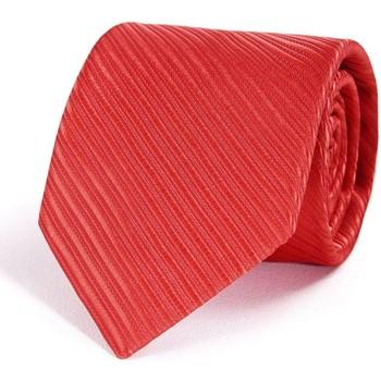 Vêtements Homme Cravates et accessoires Dandytouch Cravate Faux-Uni Rouge