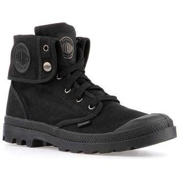Chaussures Homme Baskets montantes Palladium Manufacture Mens  Baggy 02353-060-M czarny
