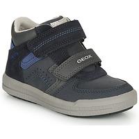 Chaussures Garçon Baskets basses Geox ARZACH M Marine