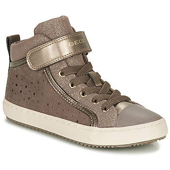 Chaussures Fille Baskets montantes Geox KALISPERE Beige