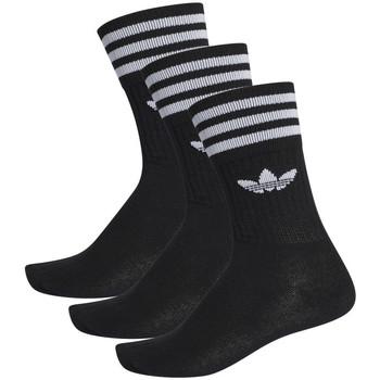 Accessoires textile Homme Chaussettes adidas Originals Solid crew sock Noir