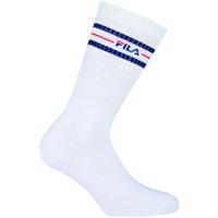 Accessoires textile Homme Chaussettes Fila Normal socks manfila3 pairs per pack Blanc