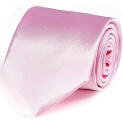 Vêtements Homme Cravates et accessoires Dandytouch Cravate unie Rose