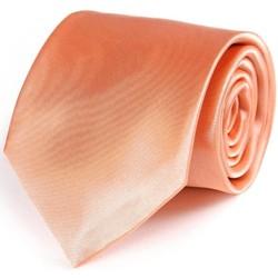 Vêtements Homme Cravates et accessoires Dandytouch Cravate unie Corail