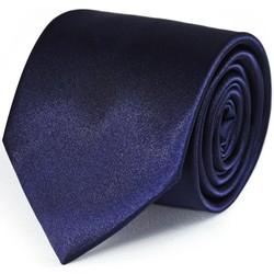 Vêtements Homme Cravates et accessoires Dandytouch Cravate unie Marine