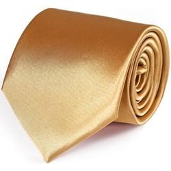 Vêtements Homme Cravates et accessoires Dandytouch Cravate unie Ocre