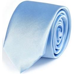 Vêtements Homme Cravates et accessoires Dandytouch Cravate Slim unie Ciel
