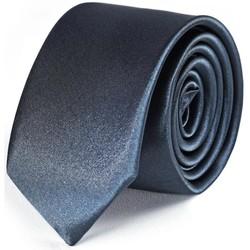 Vêtements Homme Cravates et accessoires Dandytouch Cravate Slim unie Anthracite