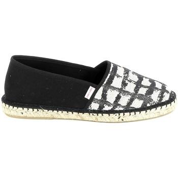 Chaussures Femme Espadrilles Pare Gabia PARE GABIA VP Mix Noir Blanc Noir