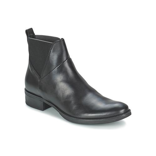 Chaussures Femme Boots Geox MENDI ST D Noir