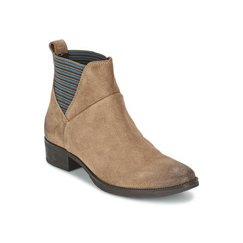 Chaussures Femme Boots Geox MENDI ST D Beige