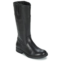 Chaussures Fille Bottes ville Geox SOFIA B Noir