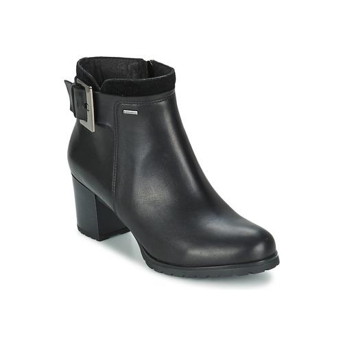 Chaussures Femme Bottines Geox LISE Noir