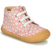 Chaussures Fille Baskets montantes GBB ATARINA Rose