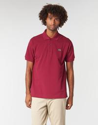 Vêtements Homme Polos manches courtes Lacoste POLO L12 12 CLASSIQUE Bordeaux