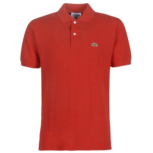Vêtements Homme Polos manches courtes Lacoste POLO L12 12 CLASSIQUE Rouge