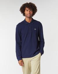 Vêtements Homme Polos manches longues Lacoste L1312 Marine