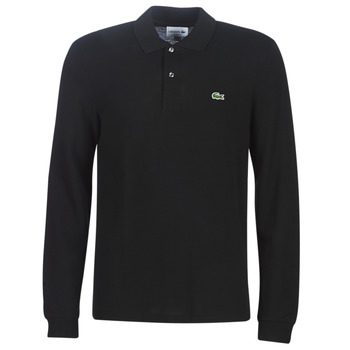 Vêtements Homme Polos manches courtes Lacoste L1312 Noir
