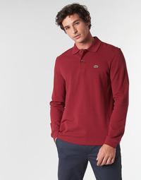 Vêtements Homme Polos manches longues Lacoste L1312 Bordeaux