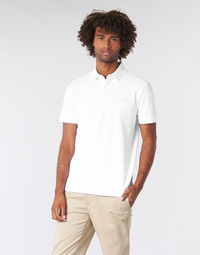 Vêtements Homme Polos manches courtes Lacoste PARIS POLO REGULAR Blanc