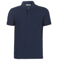 Vêtements Homme Polos manches courtes Lacoste PARIS POLO REGULAR Marine
