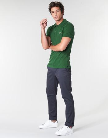 Vêtements Slim Manches Polos Lacoste Homme Courtes Vert Ph4012 PXZkui