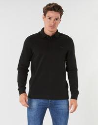 Vêtements Homme Polos manches longues Lacoste PH2481 REGULAR Noir