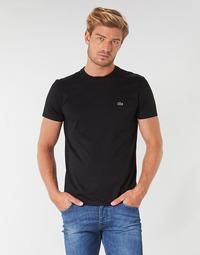 Vêtements Homme T-shirts manches courtes Lacoste TH6709 Noir