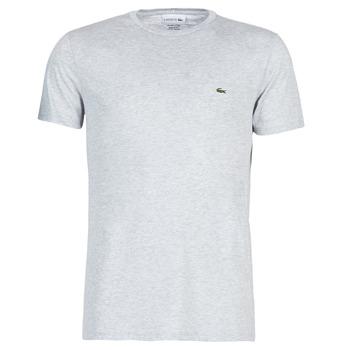 Vêtements Homme T-shirts manches courtes Lacoste TH6709 Gris