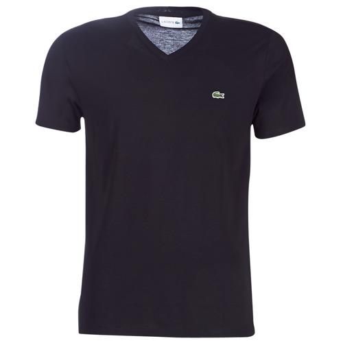 Vêtements Homme T-shirts manches courtes Lacoste TH6710 Noir