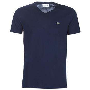 Vêtements Homme T-shirts manches courtes Lacoste TH6710 Marine