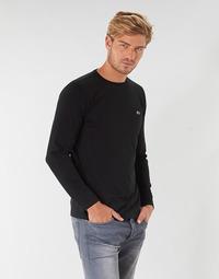 Vêtements Homme T-shirts manches longues Lacoste TH6712 Noir
