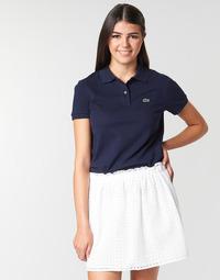 Vêtements Femme Polos manches courtes Lacoste PF7839 Classic Marine