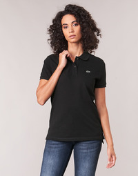 Vêtements Femme Polos manches courtes Lacoste PF7839 Classic Noir