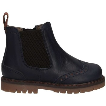 Chaussures Fille Bottines Romagnoli 2271-202 BLU Beatles Enfant bleu bleu