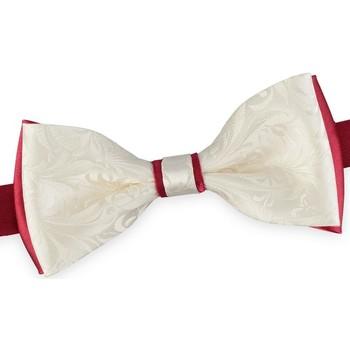 Vêtements Homme Cravates et accessoires Dandytouch Noeud papillon Albicy Blanc-Rouge
