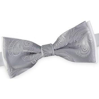 Vêtements Homme Cravates et accessoires Dandytouch Noeud papillon Atlantis Blanc-Gris