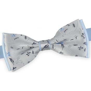 Vêtements Homme Cravates et accessoires Dandytouch Noeud papillon Flo Argent-Ciel