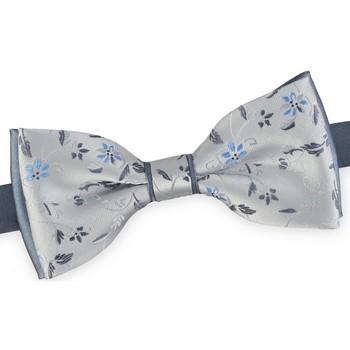 Vêtements Homme Cravates et accessoires Dandytouch Noeud papillon Flo Argent-Gris