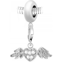 Montres & Bijoux Femme Pendentifs Sc Crystal BEA0044+CH0166-argent Argenté