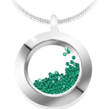 Montres & Bijoux Femme Colliers / Sautoirs Sc Crystal BS1362-EMER Vert