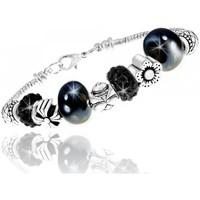 Montres & Bijoux Femme Bracelets Sc Crystal B1144-NOIR Argenté