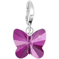 Montres & Bijoux Femme Pendentifs Sc Crystal CH1201-ARGENT-FUSH Rose