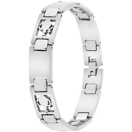 Homme Crystal Bracelets Sc B544 verseau Argenté kiXPZu