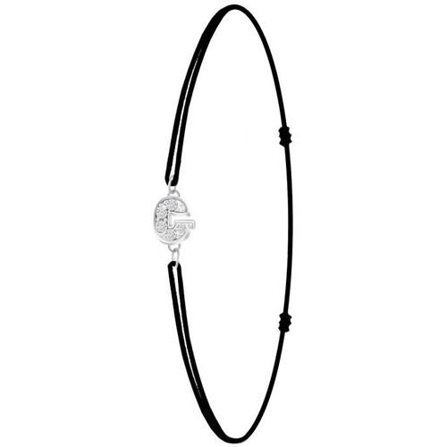 Femme Bs082 Bracelets Sc Crystal Noir g sb049 tsxBorhCQd
