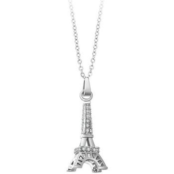 Montres & Bijoux Femme Colliers / Sautoirs Sc Crystal BP056 Argenté